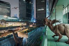 The Wildlife : quand les dinosaures envahissent la Défense, par Benoit Lapray