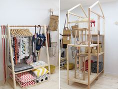 cool shelves / DIY kids room? / FANCY! New Zealand Design Blog   Awesome Design, from NZ & The World: Paper Plane takes flight