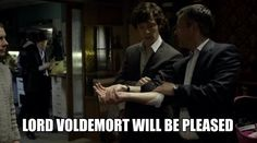 Harry Potter/Sherlock - Potterlock? - crossover. YES! I knew I wasn't the only one who thought this when they did that.
