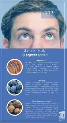 Trzy drogocenne składniki na poprawę pamięci. :)  #ageless #wiecznamlodosc #pamiec #witaminy #mlodosc #wieczniemlodzi www.ageless.pl