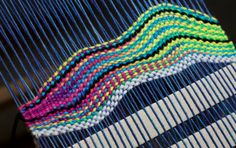 Kelly Casanova: Tapestry style weaving on the rigid heddle loom