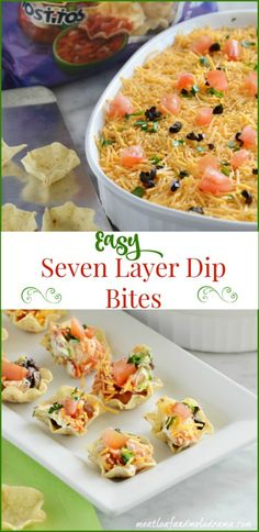 How-to-make-seven-layer-dip-bites