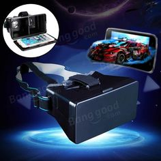 Universal Virtual Reality 3D Video Glasses For iPhone Smartphone Sale - Banggood.com