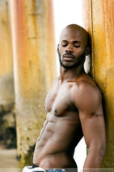 Black men nude and feet