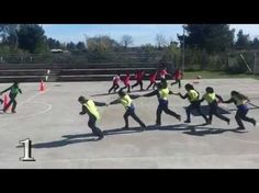 Group Energiser, Warm-Up, Fun Game - Jump In Jump Out - YouTube