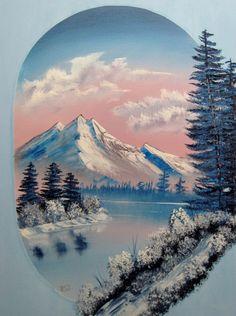 Artist RTJ Oil Painting