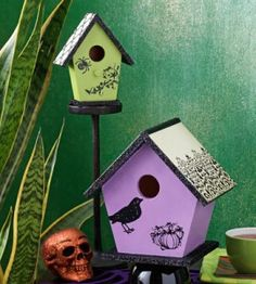 1000 images about halloween haunted houses on pinterest for Country woman magazine crafts