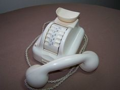 What an astounding and beautiful telephone! Siemens Barrel Phone on eBay