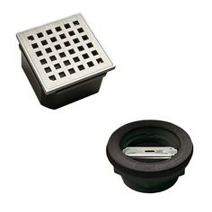 Wedi Fundo Stainless Steel Drain Kit - ABS - Drain Only Diy Shampoo, Solid Shampoo, Square Bath, Spa Items, Drain Cover, Shower Base, Copper Tubing, Shower Systems, Design System