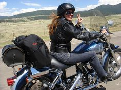 Learn to ride my own instead of being the Ladyrider. haha! that could get interesting!