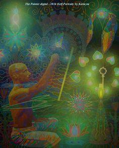 Everything comes in time to him who knows how to wait. (Leo Tolstoi)  #mystical, #mysticalart, #yogicart, #visionaryart, #healingart, #healingpaintings, #selfexploring, #inspirationalart, #artsoothesmysoul, #selfportrait, #thirdeyechakra, #spiritualart, #psychedelicart, #psychedelic, #loveisthekey, #FreeYourMind, #YouCreateYourOwnReality, #yogaartist, #BeOpenToReceive, #BeGrateful, #painter, #painteroflight, #artsyheaven, #artsyselfie, #selfiepainting, #FantasyArtwork, #SpiritArt, #karmym