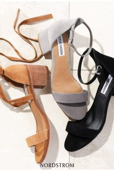 9746e81571a A block-heel sandal featuring a slender ankle strap makes for a sleek