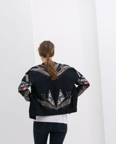 SPECIAL EDITION EMBROIDERED JACKET from Zara