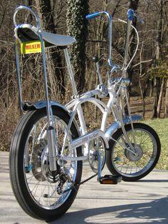 [IMG] Vintage Bmx Bikes, Old Bikes, Banana Seat Bike, E Biker, Bicycle Quotes, Lowrider Bicycle, Tricycle Bike, Power Bike, Drag Bike