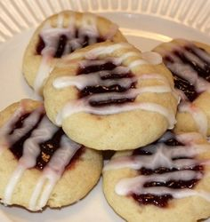 Recipe For Raspberry Almond Thumbprint Cookies