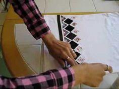 Camiseta com design étnico by Customização & Cia