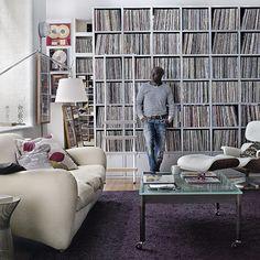 London DJ Trevor Nelson's living room (my dream pad)