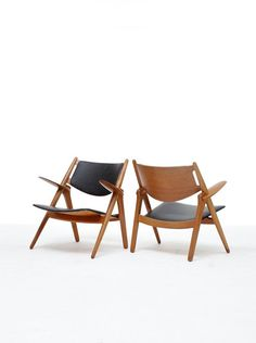 Hans Wegner Sawback Chairs