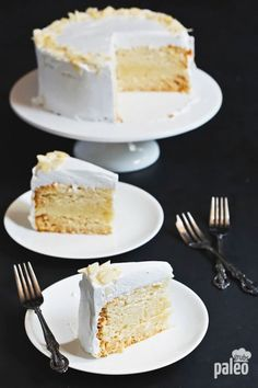 My Famous Vanilla Cake (Moist & Heavenly) | Paleo Grubs