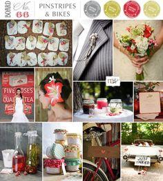 Magnolia Rouge: 66 - Pinstripes & Bikes