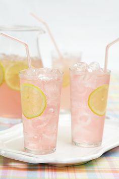 Homemade Pink Lemonade Recipe taken from Boutique Baking published by Quadrille www.peggyporschen... Photography Georgia Glynn Smith