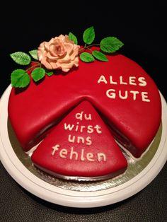 Abschieds Torte