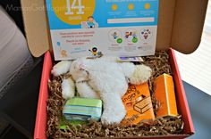 Bluum Box- a monthly box of goodies for baby & mama... get products based on your child's gender and age.