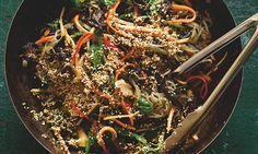 It's a long story: Yotam Ottolenghi's noodle recipes Yotam Ottolenghi, Ottolenghi Recipes, Vegetarian Recipes, Cooking Recipes, Healthy Recipes, What's Cooking, Healthy Meals, Yummy Recipes, Diet Recipes