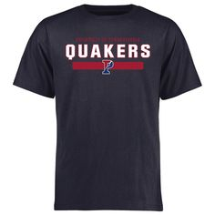 Pennsylvania Quakers Team Strong T-Shirt - Navy