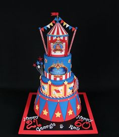 carnival cakes - Google Search