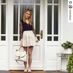 Beautiful @carodaur rocking our Benji big handbag (again!). We love your style Caro. #matthewharris #fashionblogger #spotted #photooftheday #ootd #style #fashion #blogger #streetstyle #bag #benji