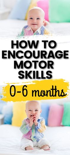 Development of the infant engine months, Motor Skills Activities, Toddler Learning Activities, Baby Learning, Infant Activities, Teaching Kids, Toddler Development, Physical Development, Development Milestones, Baby Sensory Play