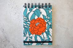 An size note pad with 80 blank white pages, a printed cover and a wrap around elastic band to keep it neat and tidy! A6 Size, White Pages, Neat And Tidy, Blank White, Notes, Spring, Floral, Pretty, Stuff To Buy