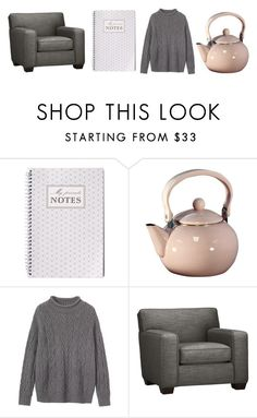 """Untitled #342"" by littlepot-marigold ❤ liked on Polyvore featuring Reston Lloyd, Toast and Crate and Barrel"