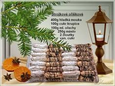 Christmas Candy, Christmas Baking, Christmas Biscuits, Place Card Holders, Table Decorations, Sweet, Facebook, Polish, Cooking