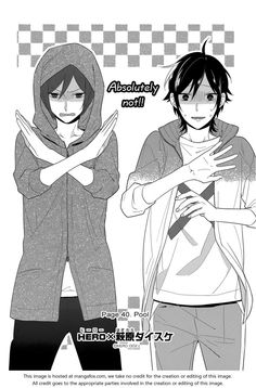 Horimiya 40: Pool This chapter was just one big joke xD I couldn't stop laughing