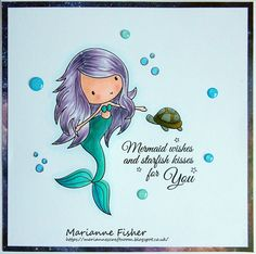 Marianne's Craftroom: Little Mermaid brings exciting news