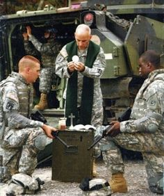 Prayer for Those in Active Service