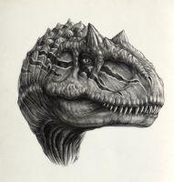 Allosaurus by AntarcticSpring