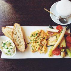 Breakfast at Caffe Dell' Artista