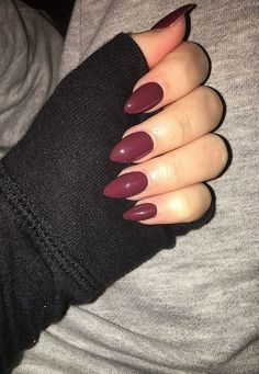 70 Most Stunning Almond Acrylic Nails Design You Must Try in Fall and Winter – Nail Idea Hope you like it ! ❀❀❀ 70 Most Stunning Almond Acrylic Nails Design You Must Try in Fall and Winter – Nail Idea Hope you like it ! Almond Acrylic Nails, Cute Acrylic Nails, Acrylic Nail Designs, Fun Nails, Acrylic Nails Maroon, Fall Almond Nails, Maroon Nails Burgundy, Stelleto Nails, Nails 2018