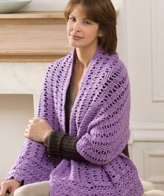 Friendship Shawl: free easy level #crochet pattern