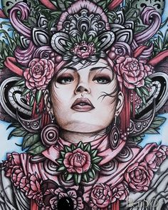 "Polubienia: 294, komentarze: 13 – Ellen Scholten-Franke (@ellenscolorings) na Instagramie: """"Hypnotic"" #serene #serenecoloringbook #nicholasfchandrawienata #nickfilbert #fantasia #arttherapy…"""
