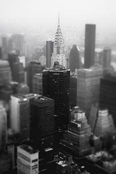 New York City Skyline and the Chrysler Building