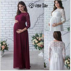 Elegant Maternity Dresses, Maternity Dresses For Photoshoot, Maternity Gowns, Lace Dresses, Maternity Wedding, Maternity Style, Wedding Dresses, Dresses For Pregnant Women, Pregnant Wedding Dress