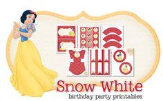 Snow White Birthday Party Freebie