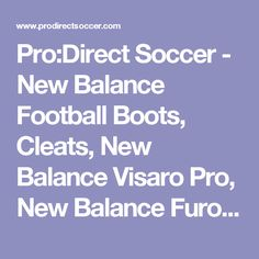 new arrivals c98f4 e1324 New Balance Football Boots