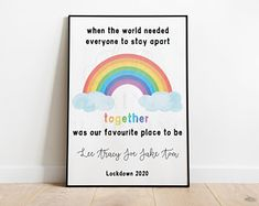 Personalised A4 Class of 2020 School Print Primary Leavers | Etsy