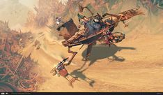 ILM Art Department Challenge: The Ride, Matt Rhodes on ArtStation at https://www.artstation.com/artwork/oz19z