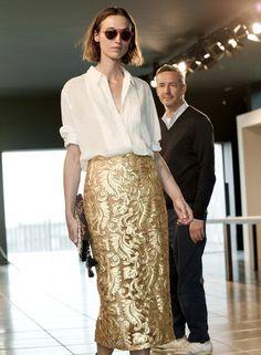 dries van noten ss14 skirt and top!